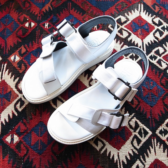 THE RERACS SPORTS SANDAL WHITE 再販のお知らせ_f0111683_13421083.jpg