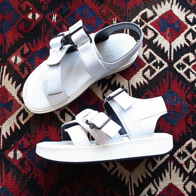 THE RERACS SPORTS SANDAL WHITE 再販のお知らせ_f0111683_13421467.jpg