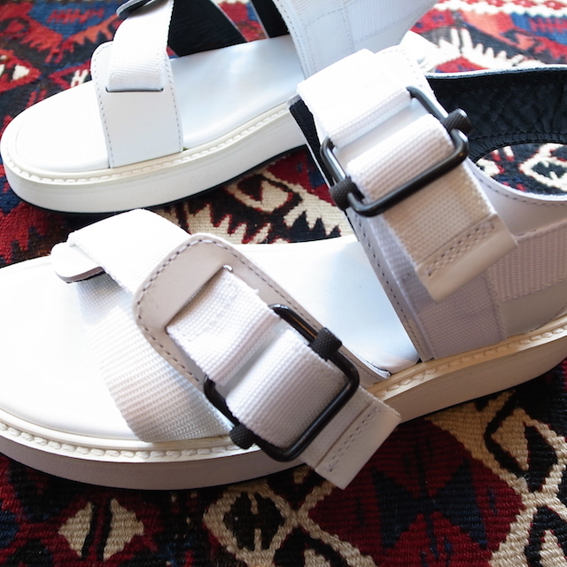 THE RERACS SPORTS SANDAL WHITE 再販のお知らせ_f0111683_13421615.jpg