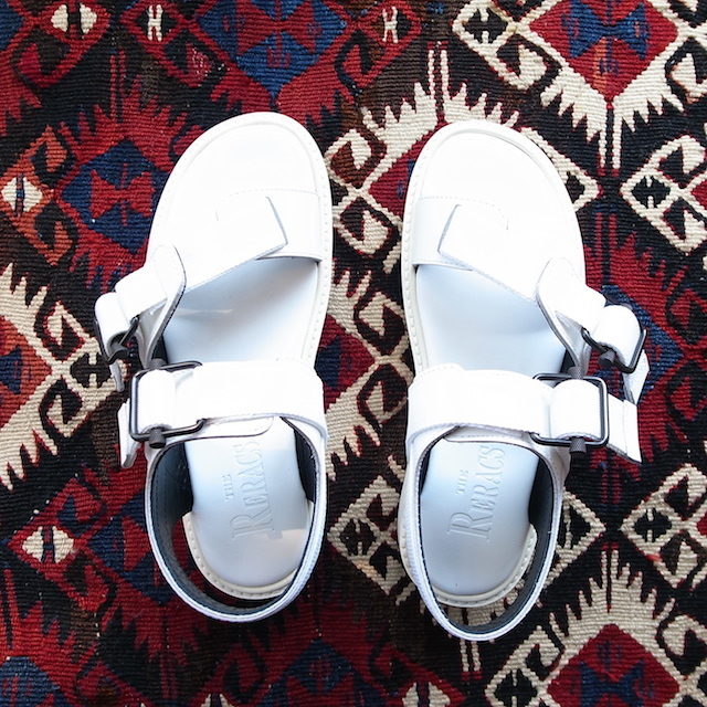 THE RERACS SPORTS SANDAL WHITE 再販のお知らせ_f0111683_13421802.jpg