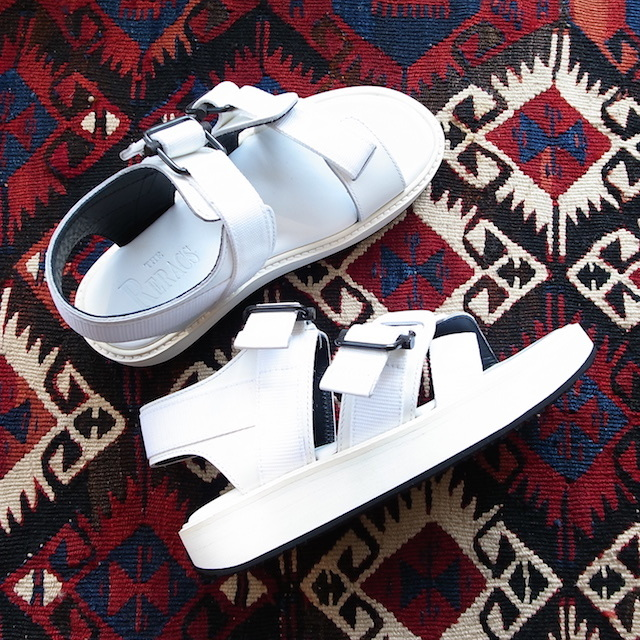 THE RERACS SPORTS SANDAL WHITE 再販のお知らせ_f0111683_13422062.jpg
