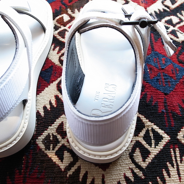 THE RERACS SPORTS SANDAL WHITE 再販のお知らせ_f0111683_13422294.jpg