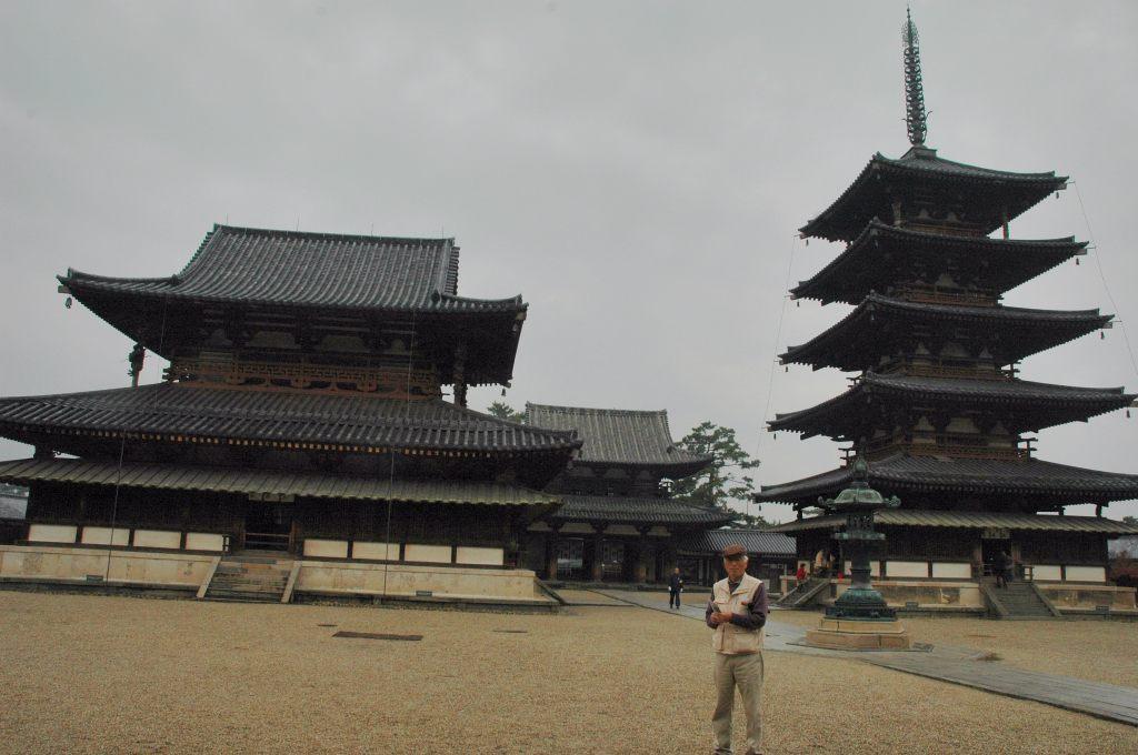 ⑬法隆寺を訪ねて_a0148206_840927.jpg