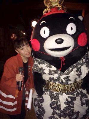 「くまモン誕生祭」の司会 楽しかったモン♪_f0015517_21363746.jpg