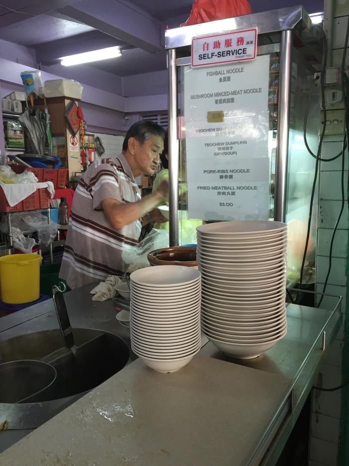 2015 3月 (3) 朝はやくから! Tion Bahru で絶品麺をいただく_f0062122_13401225.jpg