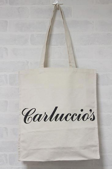 LONDON Carluccio\'s(カルッチオ) エコバッグ ブルー再入荷。_b0270459_2203741.jpg