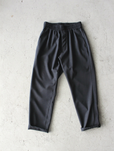 Honor gathering  Boil Smooth Wool Strech Tropical Easy Trousers_b0139281_17571657.jpg