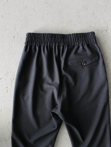 Honor gathering  Boil Smooth Wool Strech Tropical Easy Trousers_b0139281_17573425.jpg