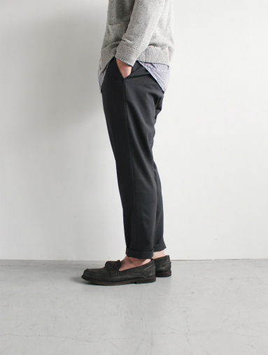 Honor gathering  Boil Smooth Wool Strech Tropical Easy Trousers_b0139281_17574574.jpg