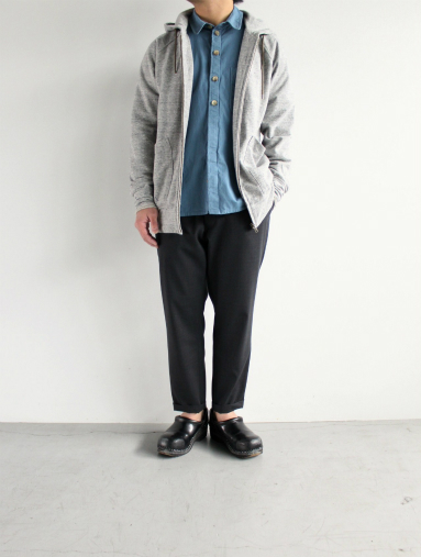 Honor gathering  Boil Smooth Wool Strech Tropical Easy Trousers_b0139281_17581232.jpg