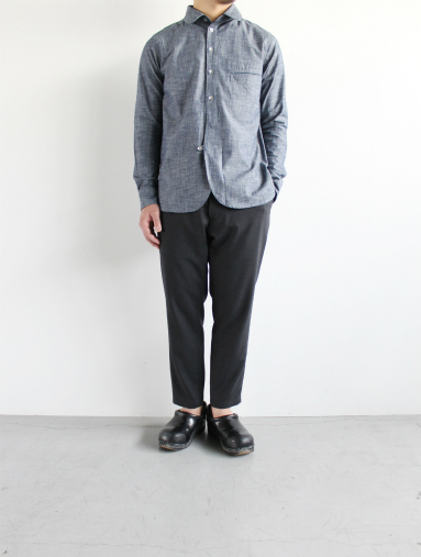 Honor gathering  Boil Smooth Wool Strech Tropical Easy Trousers_b0139281_17581928.jpg