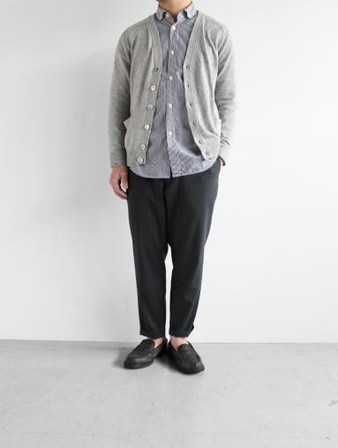 Honor gathering  Boil Smooth Wool Strech Tropical Easy Trousers_b0139281_175889.jpg