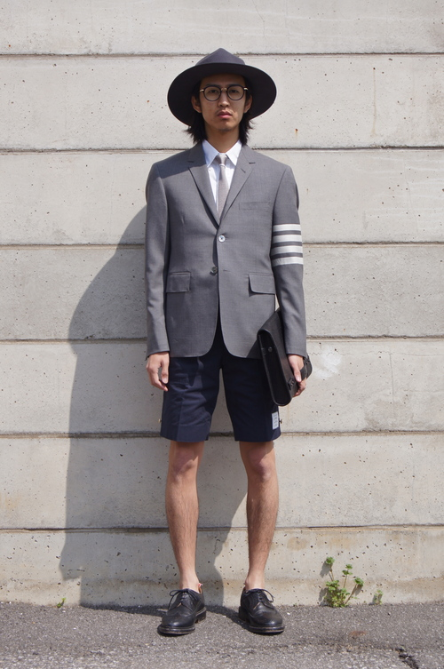 THOM BROWNE. - GREY & NAVY..._c0079892_20444735.jpg