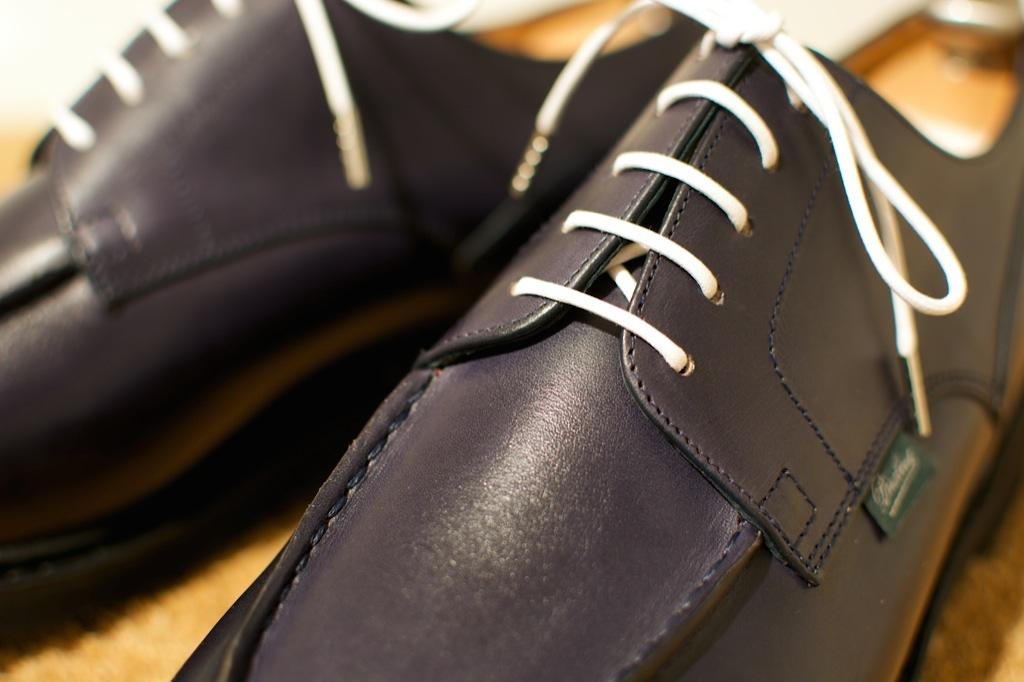 靴のお手入れ。 パラブーツ シャンボード Nuit_b0168993_18113868.jpg