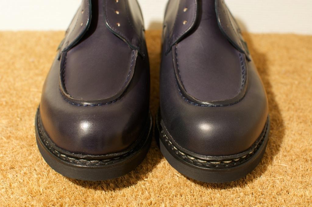 靴のお手入れ。 パラブーツ シャンボード Nuit_b0168993_1812070.jpg