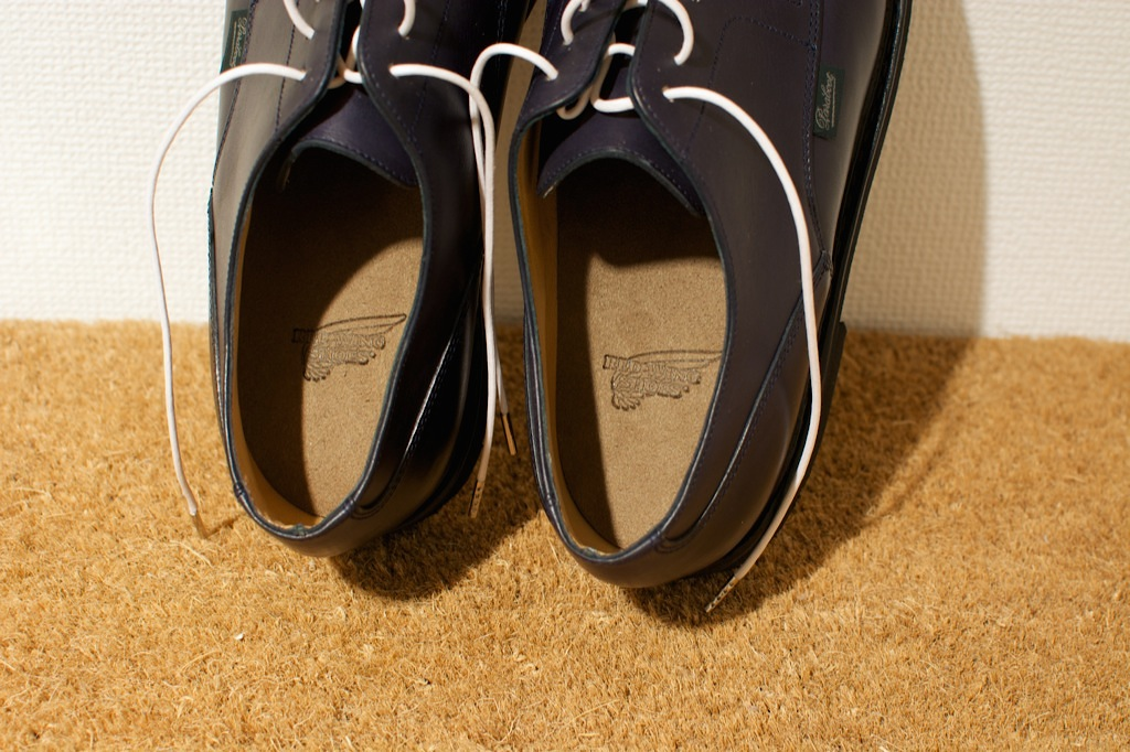 靴のお手入れ。 パラブーツ シャンボード Nuit_b0168993_1813329.jpg
