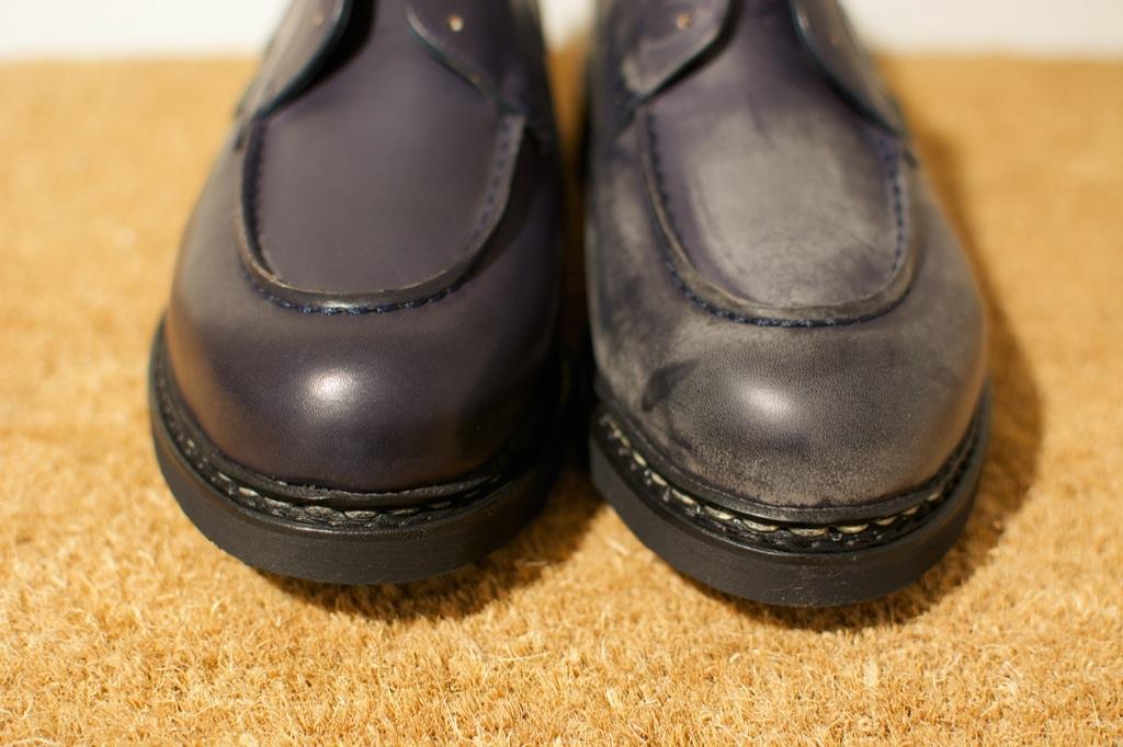 靴のお手入れ。 パラブーツ シャンボード Nuit_b0168993_181441.jpg