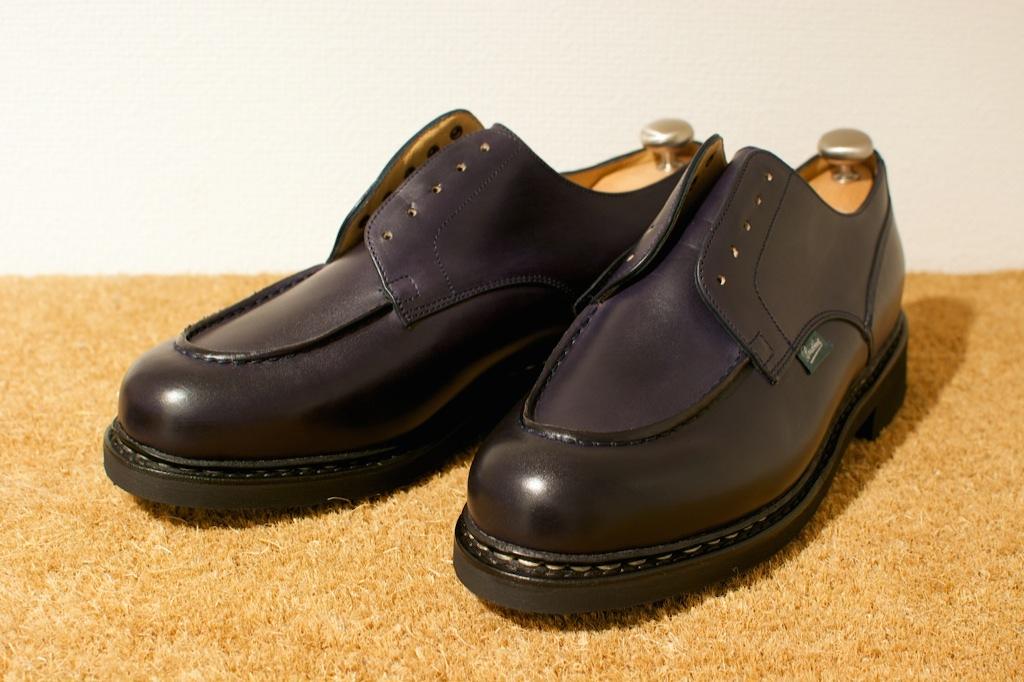 靴のお手入れ。 パラブーツ シャンボード Nuit_b0168993_18154324.jpg