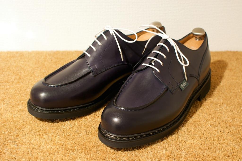 靴のお手入れ。 パラブーツ シャンボード Nuit_b0168993_18161018.jpg