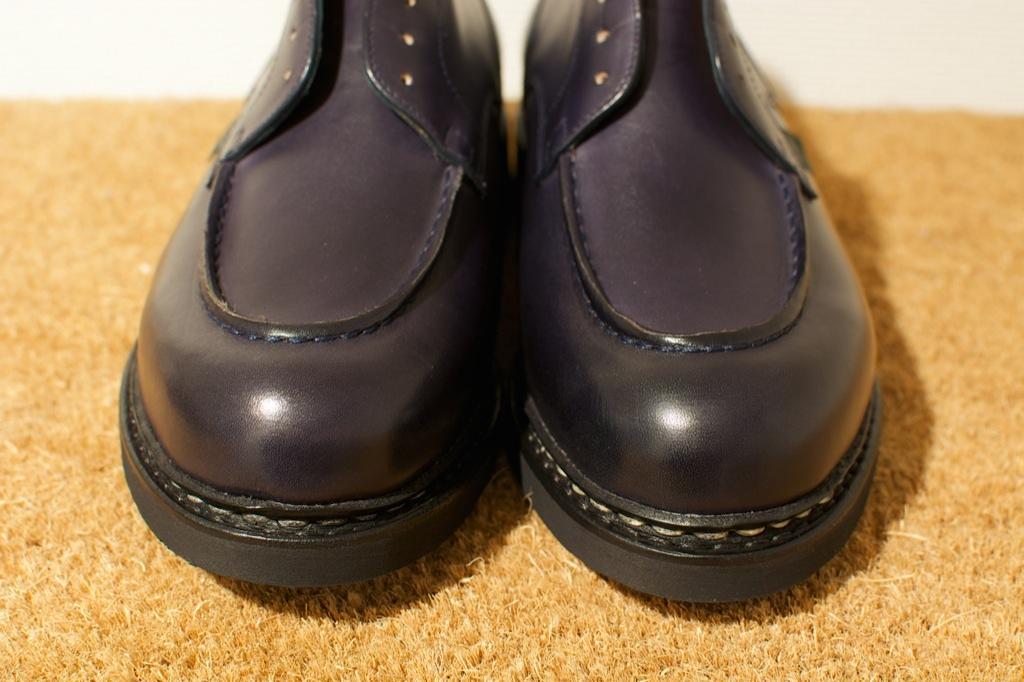 靴のお手入れ。 パラブーツ シャンボード Nuit_b0168993_185087.jpg