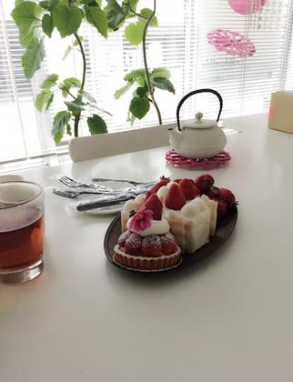 Des fraises : いちご_f0038600_19125344.jpg