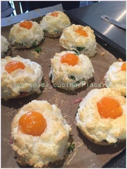 ふわふわメレンゲ卵の前菜&4月のレッスン日程_b0107003_21432836.jpg