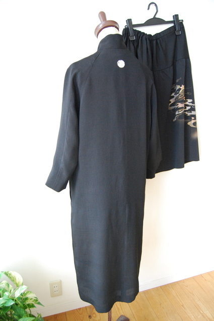 着物リメイク・喪服からドレスへ_d0127925_2310685.jpg