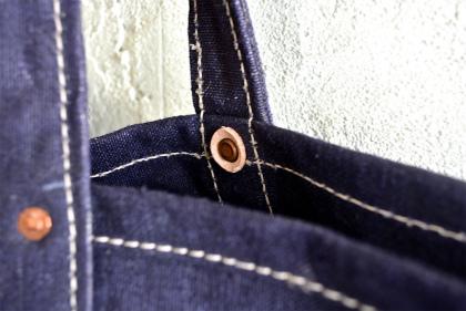 Squat original tote bag Belgian navy version_f0226051_14224326.jpg