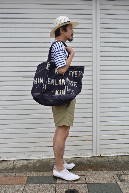 SQUAT original tote bag Belgian navy version snaps_f0226051_20511532.jpg