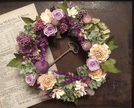 オーダーのお花たちとレッスン_b0192257_21373976.jpg