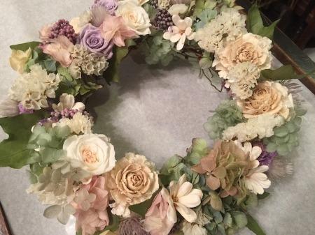 オーダーのお花たちとレッスン_b0192257_213826100.jpg