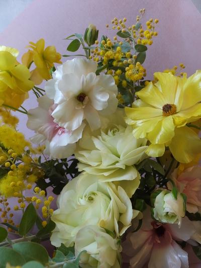 オークリーフ(ラナンキュラスの花束)_f0049672_16585979.jpg
