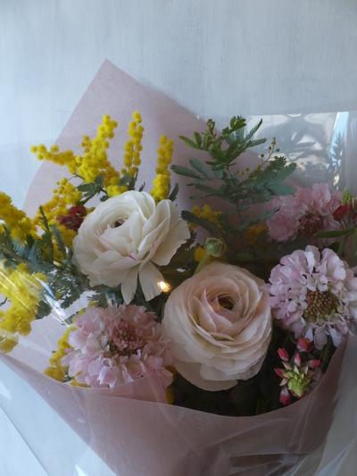 オークリーフ(ラナンキュラスの花束)_f0049672_16591362.jpg