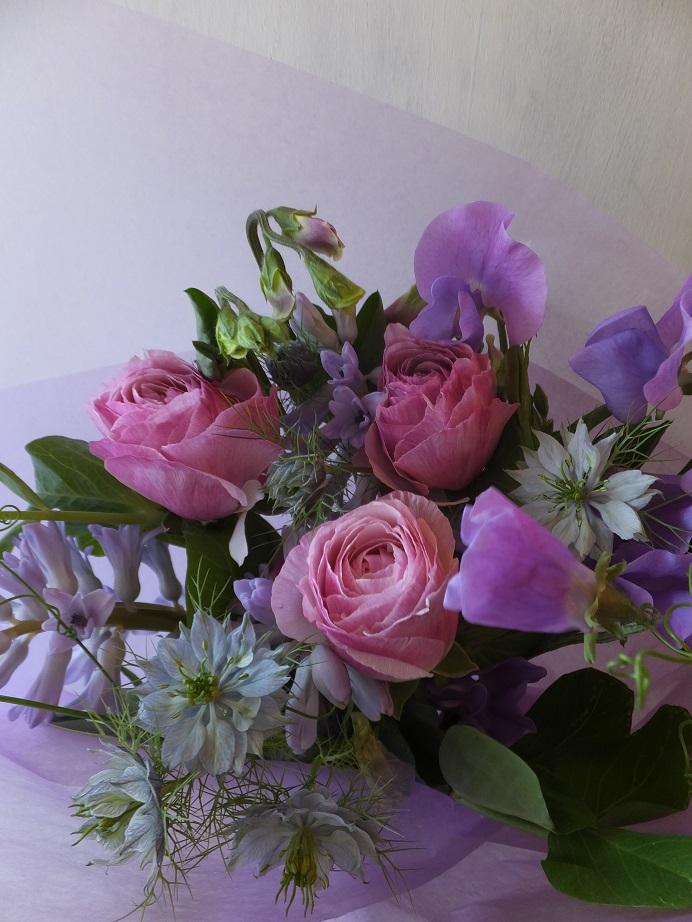 オークリーフ(ラナンキュラスの花束)_f0049672_16591826.jpg