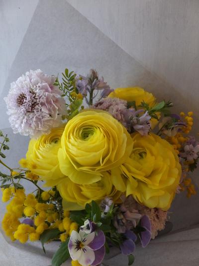 オークリーフ(ラナンキュラスの花束)_f0049672_16592893.jpg