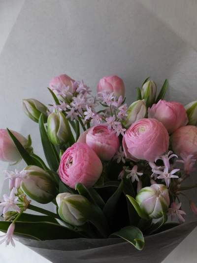 オークリーフ(ラナンキュラスの花束)_f0049672_16593774.jpg