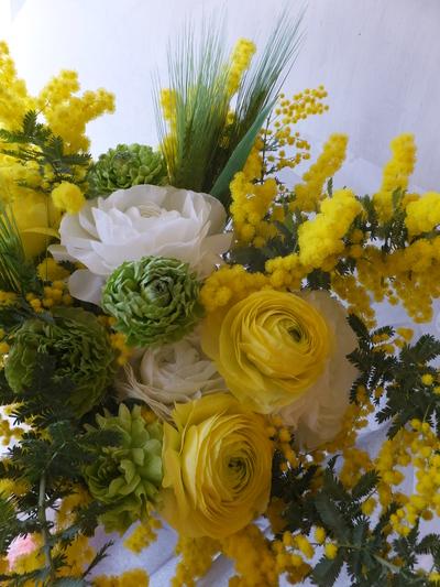 オークリーフ(ラナンキュラスの花束)_f0049672_1659497.jpg