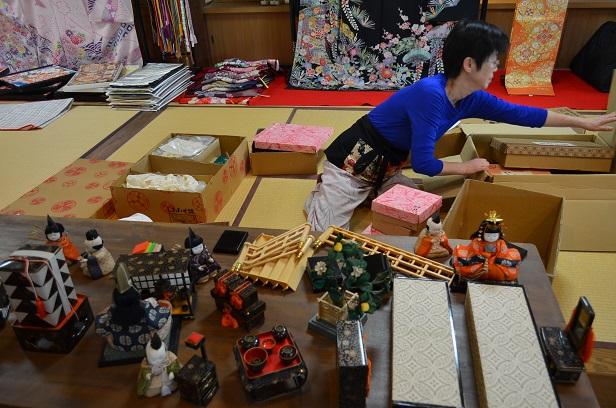 臼杵お雛巡り終了、そして桜祭りへ^^_d0230676_118035.jpg