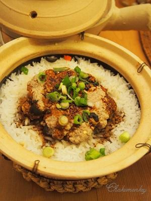 久々に香港の釜飯、煲仔飯をおうちで作る♪_f0238789_1956736.jpg