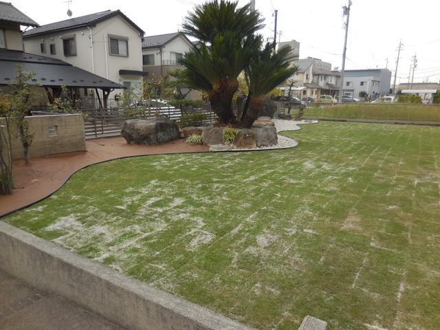 雑草対策の庭の完成_d0251191_1192237.jpg