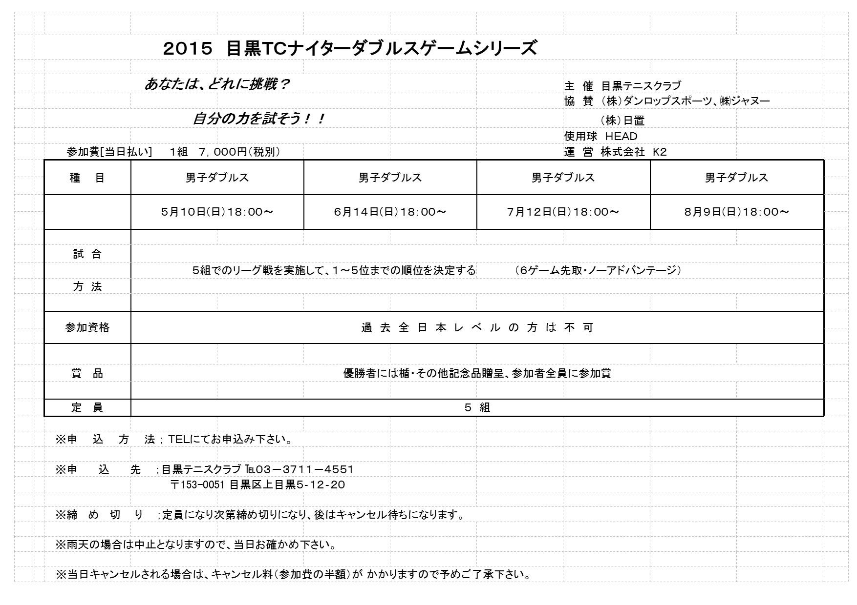 2015年5月~8月ナイターダブルストーナメント_b0158200_12165358.jpg
