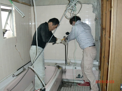 西区 T様邸・浴室改修工事_d0125228_7181443.jpg