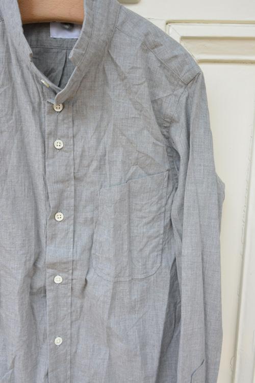 nm スモールスタンドシャツ_a0113127_12571875.jpg