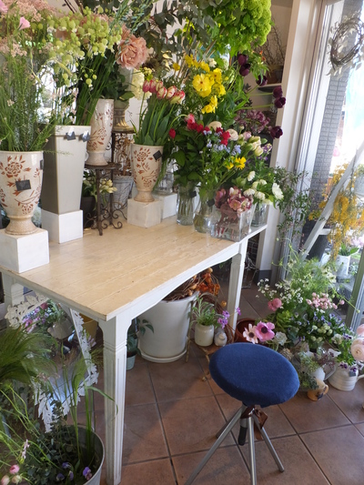 オークリーフ花の教室(根本さんの作品)_f0049672_17173218.jpg