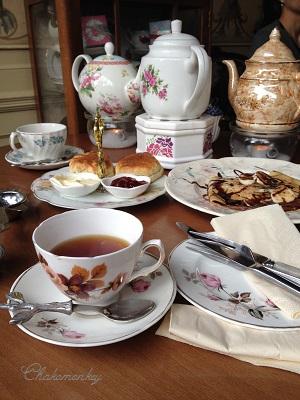 Candella Tea RoomでVintage食器に囲まれて至福のティータイム_f0238789_21331167.jpg