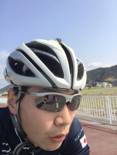 金栄堂サポート:日本大学自転車競技部・杉村貫太選手 Fact®80%シルバーミラーインプレッション!_c0003493_927302.jpg