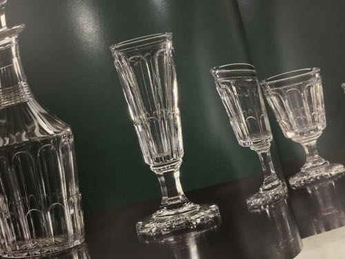 Baccarat Louis XVlll シャンパン・フリュート_c0108595_1104863.jpg