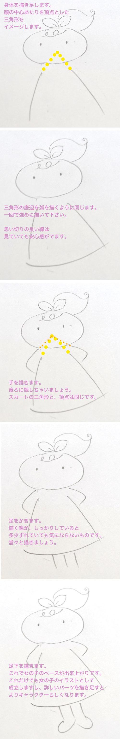 ラフなお絵描き講座(女の子を描いてみましょう!)_d0225198_11433667.jpg