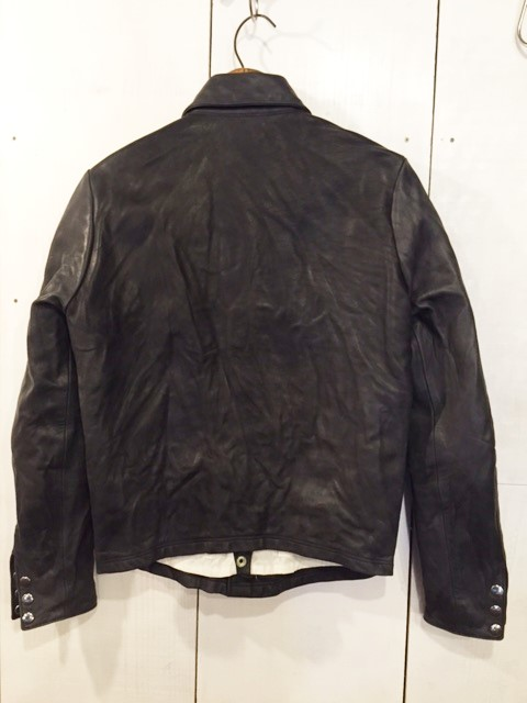 THE EASTERN Leather jacket_d0121303_13434129.jpg