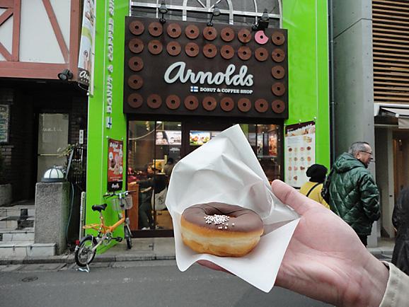 arnoldsのドーナツ_e0230011_17275120.jpg